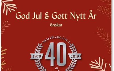God Jul & Gott Nytt År !