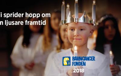 I jul stödjer ex-te EL barncancerfonden
