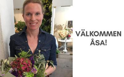 Välkommen Åsa!