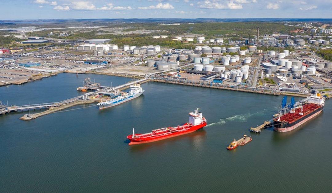 Göteborgs hamn satsar på miljön!