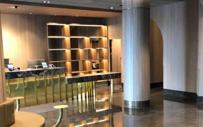 Hotell Rivertons nya utseende börjar ta form