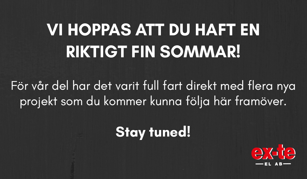 Stay Tuned!