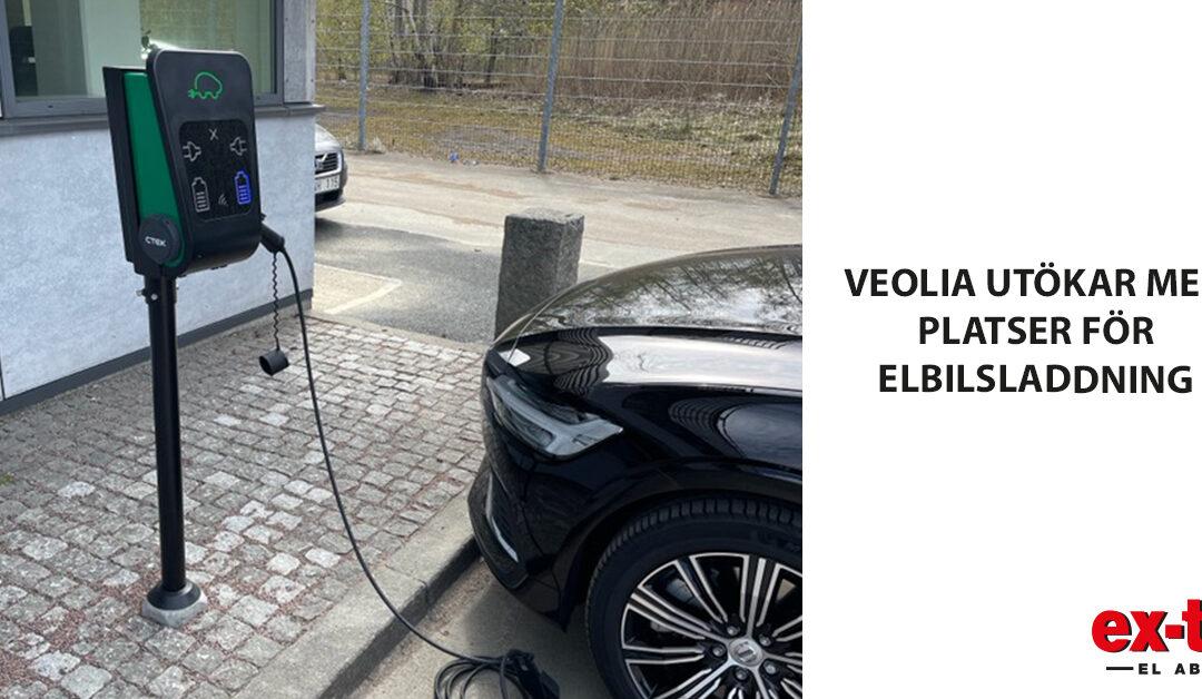 Veolia Recycling satsar på elbilsladdning